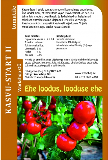 Startup for tomatoes - natural fertilizer 1L