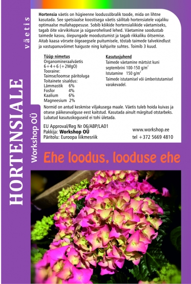 Natural fertilizerfor for Hydrangea-3L