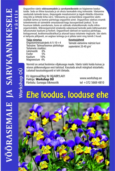 Pansy natural fertilizer-3L